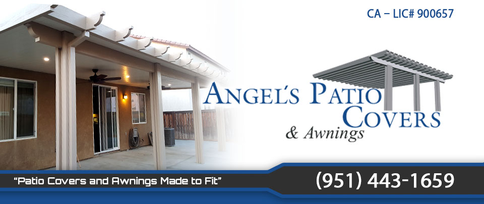 Alumawood Patio Covers in Menifee moreno valley